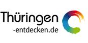 Das digitale Wegenetz des Lutherwegs in Thüringen.